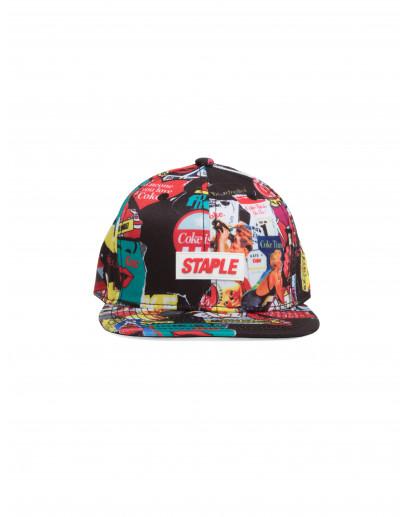 Staple Pigeon Coke Collage Snapback Cap