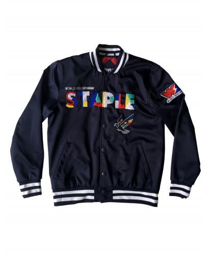 Staple Pigeon - Nylon Jacket W/Applique