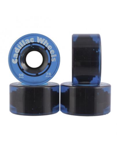 RUOTE CADILLAC 56MM/78A colore Blue