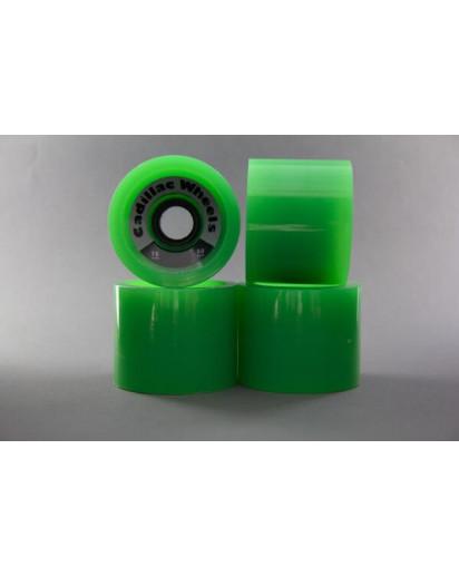 RUOTE CADILLAC CRUISER 70MM/80A colore Green
