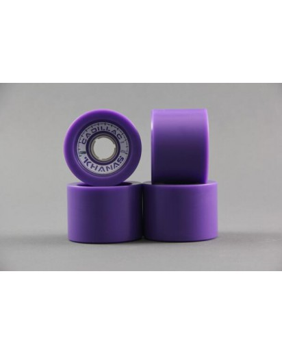 RUOTE CADILLAC KHANAS 66MM/86A colore Purple