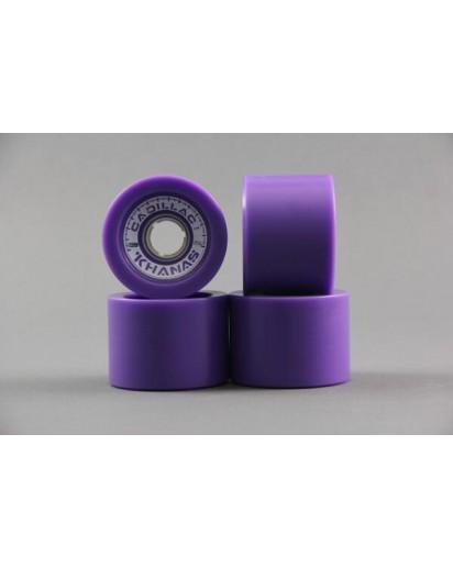 RUOTE CADILLAC KHANAS 66MM/86A colore Purple