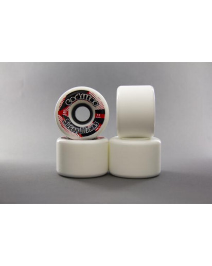 RUOTE CADILLAC SUGAR MAMAS 65MM/81A colore White