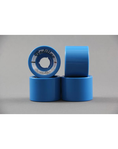 RUOTE CADILLAC WHITE WALLS 59MM/78A colore Blue