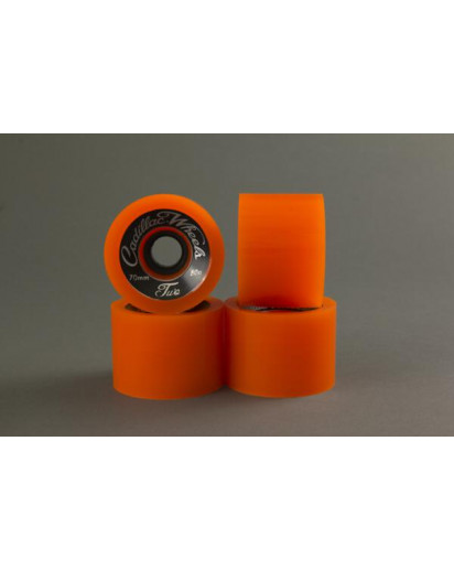 RUOTE CADILLAC CLASSIC TWO 70MM/80A colore Orange