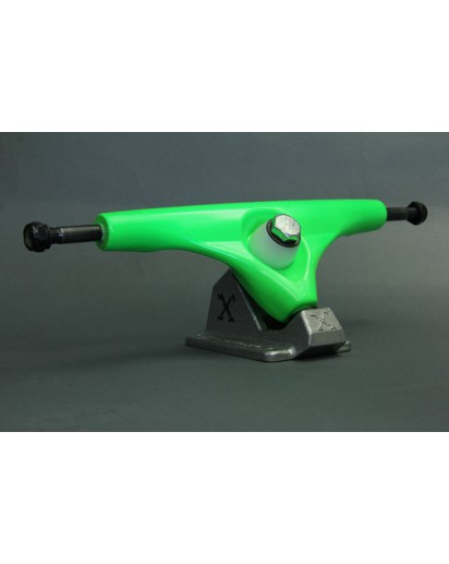 TRUCK X-CALIBER 180MM colore Green/Raw