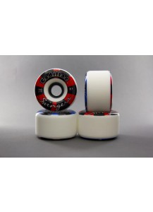 RUOTE CADILLAC SWINGERS 70MM/81A colore White