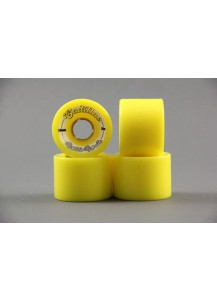 RUOTE CADILLAC WHITE WALLS 59MM/78A colore Yellow