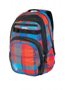 ZAINO CHASE -Plaid Red/Blue/Grey