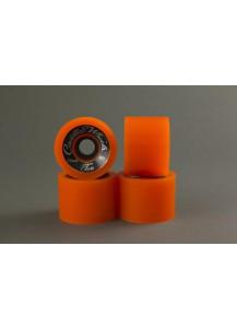 RUOTE CADILLAC CLASSIC TWO 70MM/80A colore Orange