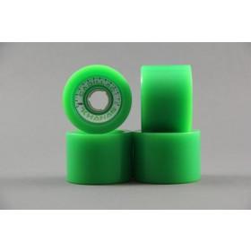RUOTE CADILLAC KHANAS 66MM/83A colore Green