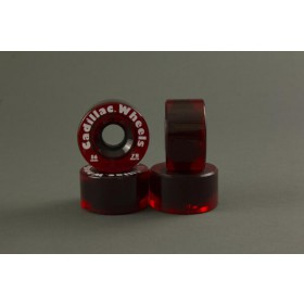 RUOTE CADILLAC 56MM/78A colore Red