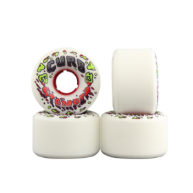 RUOTE VENOM CURB STOMPERS 61MM/82A colore White